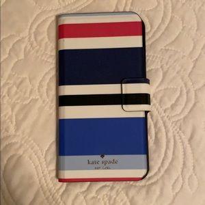 NWOT Kate Spade iPhone 6/7/8 Plus Wallet Case